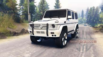 Mercedes-Benz G65 AMG para Spin Tires