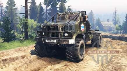 KrAZ-258 v3.0 para Spin Tires