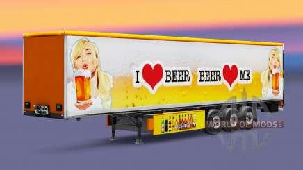 La piel de la Cerveza para remolques para Euro Truck Simulator 2