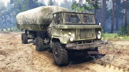 GAS-66П para Spin Tires