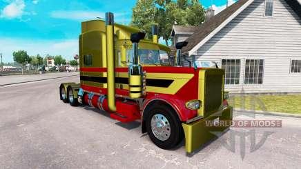 Pieles Metálicas 7 para el camión Peterbilt 389 para American Truck Simulator