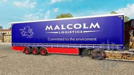Cortina semirremolque Krone Malcolm para Euro Truck Simulator 2