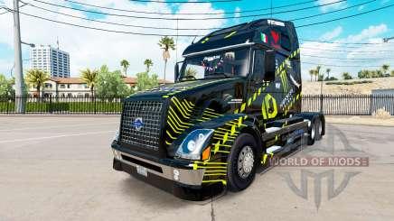 La piel de Monster Energy para camiones Volvo VNL 670 para American Truck Simulator