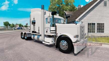 La piel de la Vida de Petróleo para el camión Peterbilt 389 para American Truck Simulator