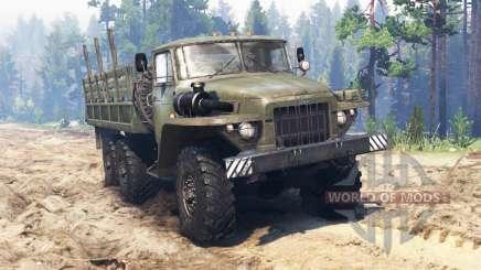 Ural-375 v2.0 para Spin Tires