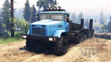 KrAZ-6322 v2.1 para Spin Tires