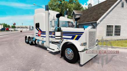 Burton Camiones de la piel para el camión Peterbilt 389 para American Truck Simulator