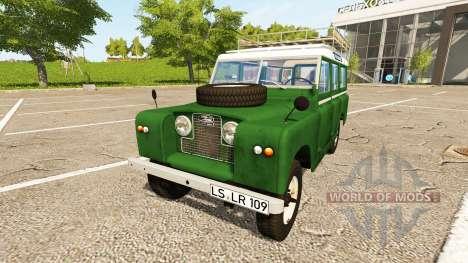 Land Rover Series IIa Station Wagon 1965 para Farming Simulator 2017