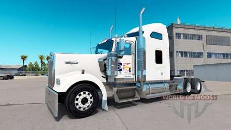 La piel Terranova de la Bandera en el camión Ken para American Truck Simulator