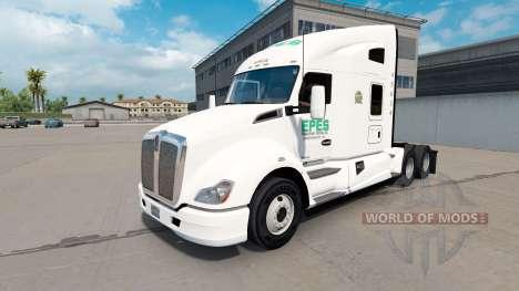 Epes de Transporte de la piel para Kenworth T680 para American Truck Simulator