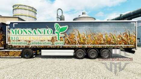Monsanto Bio piel para remolques para Euro Truck Simulator 2