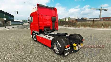 Peter Appel de la piel para DAF camión para Euro Truck Simulator 2