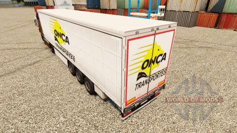 Onca Transportes de la piel para remolques para Euro Truck Simulator 2