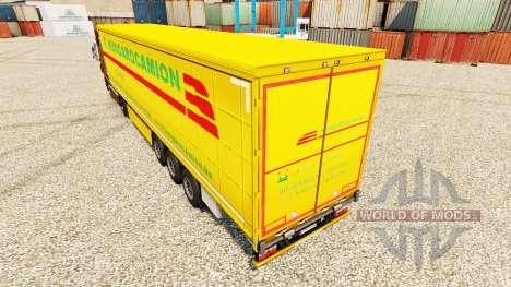 Hungarocamion de la piel para remolques para Euro Truck Simulator 2