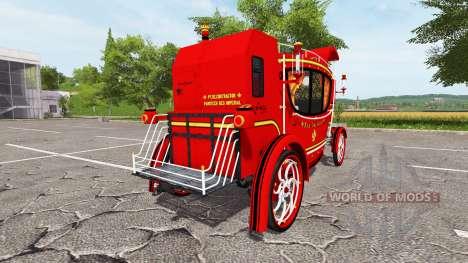 El Real carruaje para Farming Simulator 2017
