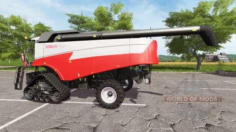 Yo Rostselmash Tora 760 [pack] para Farming Simulator 2017