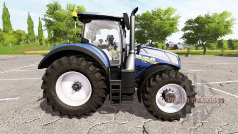 New Holland T7.315 blue power para Farming Simulator 2017