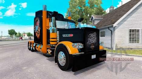 La piel de Harley-Davidson para el camión Peterb para American Truck Simulator