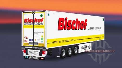 Semitrailer reefer EN Obispo para Euro Truck Simulator 2