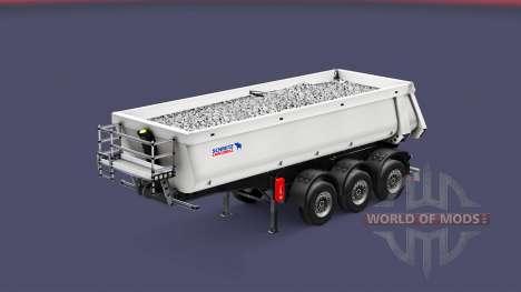 Semi-remolque tipper Schmitz Cargobull para Euro Truck Simulator 2