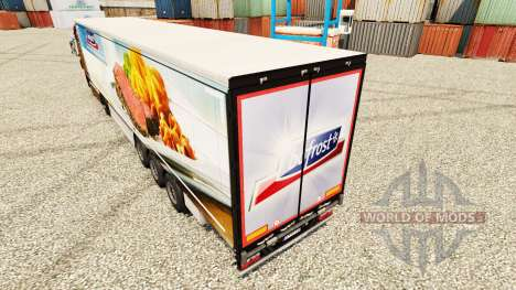 Bofrost de la piel para remolques para Euro Truck Simulator 2