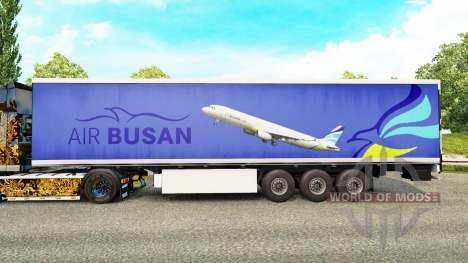 La piel del Aire de Busan para remolques para Euro Truck Simulator 2