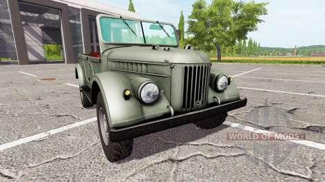 GAZ-69 para Farming Simulator 2017