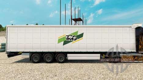 La piel Tmg Loudeac en semi para Euro Truck Simulator 2