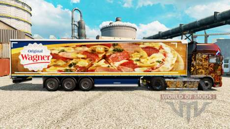 La piel de Wagner semi para Euro Truck Simulator 2