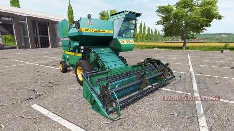 Rostselmash SK-5M-1 Niva para Farming Simulator 2017