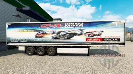 La piel de las 24 horas de le mans de MOTOCICLET para Euro Truck Simulator 2