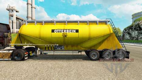La piel Otterbein cemento semi-remolque para Euro Truck Simulator 2
