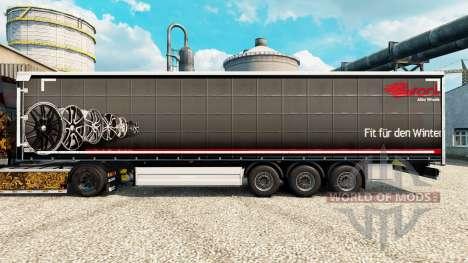 Brock piel para remolques para Euro Truck Simulator 2