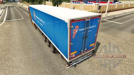La piel Pardieiro Transportes Lda para semi-remo para Euro Truck Simulator 2