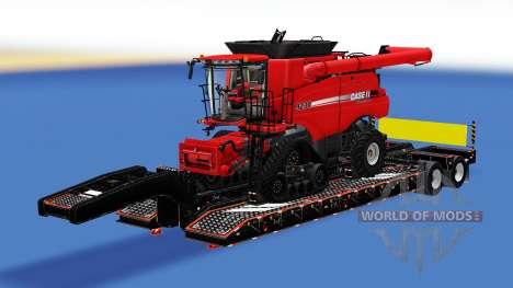 Una colección de los remolques de carga v2.5 para American Truck Simulator