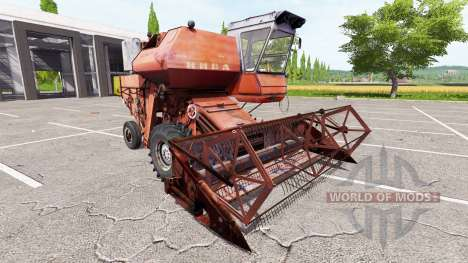Rostselmash SK-5 Niva para Farming Simulator 2017