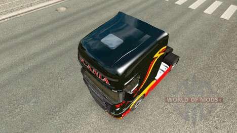 Pirelli piel para Scania camión R700 para Euro Truck Simulator 2