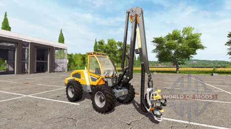Sampo Rosenlew HR46X full cranecontrols para Farming Simulator 2017