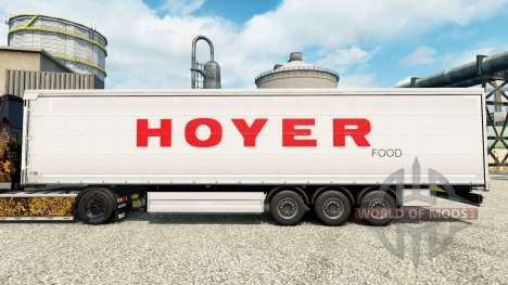 Hoyer piel para remolques para Euro Truck Simulator 2