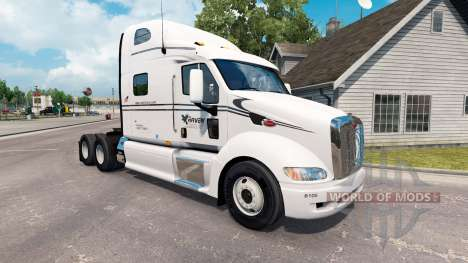 Raven de la piel para el camión Peterbilt 387 para American Truck Simulator