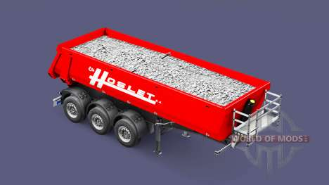Semi-remolque volquete Schmitz Cargobull Hoslet para Euro Truck Simulator 2