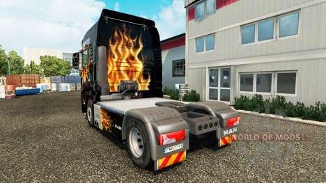 La piel Famas para tractor HOMBRE para Euro Truck Simulator 2