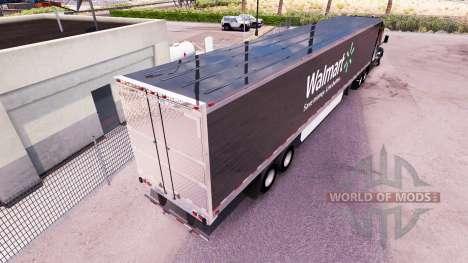 La piel Walmart trailer extendido para American Truck Simulator