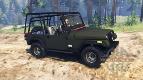 Jeep YJ 1991 para Spin Tires
