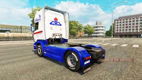 La piel de Mammut tractor Scania para Euro Truck Simulator 2