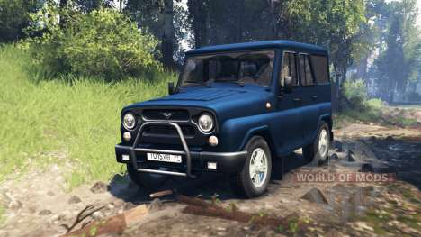 UAZ-315195 hunter v2.0 para Spin Tires