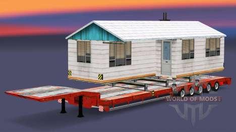 Bajo el barrido con los bienes v3.2 para Euro Truck Simulator 2