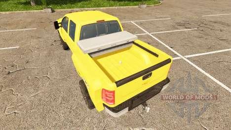 Chevrolet Silverado 3500 HD v2.0 para Farming Simulator 2017