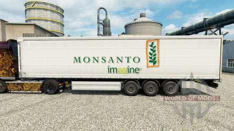 La piel de Monsanto imaginar en semi para Euro Truck Simulator 2