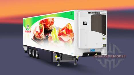 Semitrailer reefer EN Laghetto para Euro Truck Simulator 2